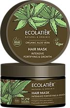 """Voňavky, Parfémy, kozmetika Maska na vlasy """"Inatenzívne spevnenie a rast"""" - Ecolatier Organic Aloe Vera Hair Mask"""