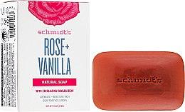 Mydlo - Schmidt's Naturals Bar Soap Rose Vanilla — Obrázky N1