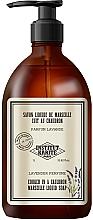 Voňavky, Parfémy, kozmetika Tekuté mydlo - Institut Karite Lavender So Vintage Marseille Liquid Soap