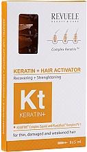 Voňavky, Parfémy, kozmetika Aktivátor na vlasy - Revuele Keratin+ Ampoules Hair Restoration Activator
