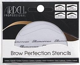 Voňavky, Parfémy, kozmetika Sada šablónov na obočie - Ardell Brow Perfection Stencils