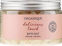 """Voňavky, Parfémy, kozmetika Relaxačná soľ do kúpeľa """"Delicious Touch"""" - Organique"""