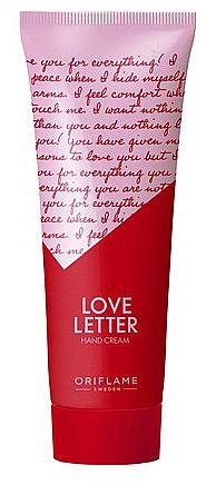"""Krém na ruky """"Ľúbostný list"""" - Oriflame Love Letter Hand Cream"""