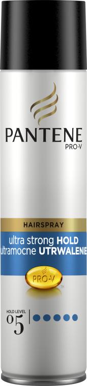 Lak na vlasy ultrastrong fixácia - Pantene Pro-V Ultra Strong Hold Hair Spray