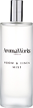"""Voňavky, Parfémy, kozmetika Sprej pre domov """"Citrónová tráva a bergamot"""" - AromaWorks Light Range Room Mist"""