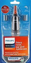 Voňavky, Parfémy, kozmetika Zastrihávač chĺpkov v nose a ušiach - Philips Trimmer NT3160/10
