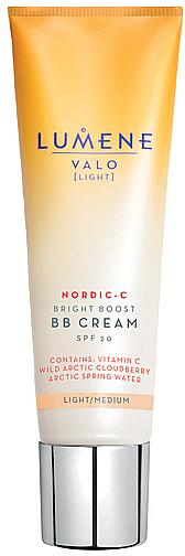 Rozjasňujúci BB krém - Lumene Valo Bright Boost BB Cream SPF20