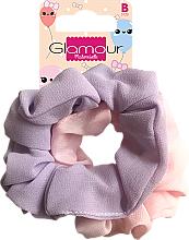 Voňavky, Parfémy, kozmetika Gumičky do vlasov, 417616, ružová a fialová - Glamour