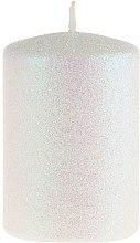 Voňavky, Parfémy, kozmetika Dekoratívna sviečka, perleťová, 7x10 cm - Artman Glamour