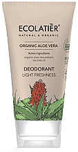 """Voňavky, Parfémy, kozmetika Dezodorant """"Ľahkosť a sviežosť"""" - Ecolatier Organic Aloe Vera Deodorant"""