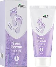 Voňavky, Parfémy, kozmetika Upokojujúci krém na nohy s levanduľou - Ekel Foot Cream
