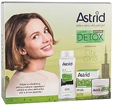 Voňavky, Parfémy, kozmetika Sada - Astrid Citylife Detox (cr/50ml + m/water/400ml)