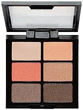 Voňavky, Parfémy, kozmetika Paleta tieňov - MUA 6 Shade Palette