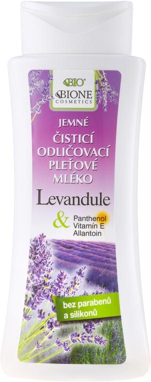 """Čistiace mlieko na tvár """"Levanduľa"""" - Bione Cosmetics Lavender Cleansing Facial Milk"""