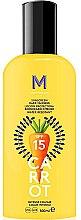 Voňavky, Parfémy, kozmetika Krém pre tmavé opálenie s ochranou proti slnku - Mediterraneo Sun Carrot Sunscreen Dark Tanning SPF15