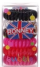 Voňavky, Parfémy, kozmetika Gumičky do vlasov - Ronney Professional Funny Ring Bubble 2