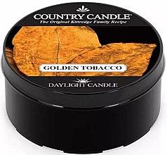 Voňavky, Parfémy, kozmetika Čajová sviečka - Country Candle Golden Tobacco