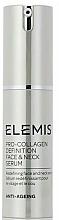 Voňavky, Parfémy, kozmetika Sérum na tvár a krk - Elemis Pro-Collagen Definition Face & Neck Serum