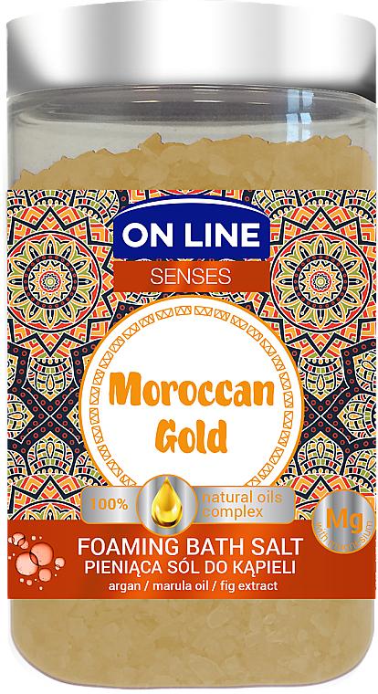 Soľ do kúpeľa - On Line Senses Bath Salt Moroccan Gold