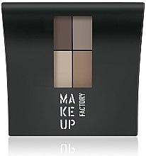 Voňavky, Parfémy, kozmetika Matný očný tieň - Make Up Factory Mat Eye Colors