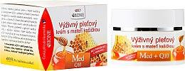 Voňavky, Parfémy, kozmetika Výživný krém na tvár s materskou kašičkou - Bione Cosmetics Honey + Q10 Cream