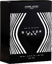 Voňavky, Parfémy, kozmetika Jeanne Arthes Silver Man - Toaletná voda