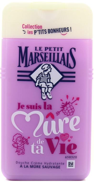 """Sprchový gél """"Blackberry"""" - Le Petit Marseillais Blackberry Shower Gel"""