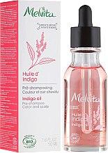 Voňavky, Parfémy, kozmetika Olej na vlasy - Melvita Organic Pre-Shampoo Indigo Oil
