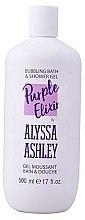 Voňavky, Parfémy, kozmetika Sprchový gél - Alyssa Ashley Purple Elixir Bath And Shower Gel