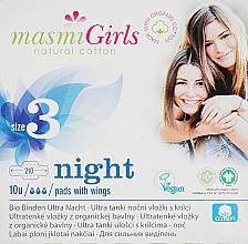 Voňavky, Parfémy, kozmetika Ultratenké hygienické vložky pre tínedžerov Girl, 10 ks - Masmi