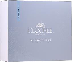 Voňavky, Parfémy, kozmetika Sada - Clochee Facial Skin Care Moisturising Set (ser/30ml + eye/cr/15ml + candle)