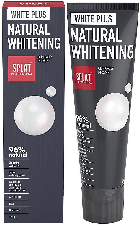 Zubná pasta - SPLAT Professional White Plus Natural Whitening