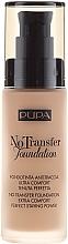 Voňavky, Parfémy, kozmetika Tonálny základ - Pupa No Transfer Foundation