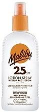 Voňavky, Parfémy, kozmetika Opaľovací lotion-sprej na telo - Malibu Sun Lotion Spray Medium Protection Water Resistant SPF 25