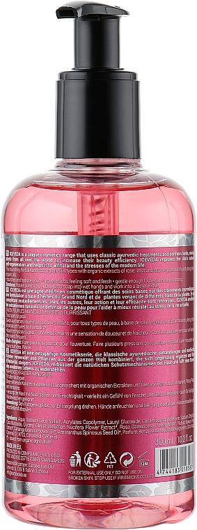 Tekuté mydlo na ruky - Iceveda Arctic Rose & Maharaja Lotus Nourishing Herbal Hand Soap — Obrázky N2