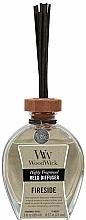 Voňavky, Parfémy, kozmetika Aromatický difúzor - WoodWick Reed Diffuser Fireside