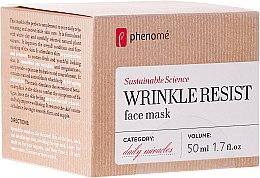 Voňavky, Parfémy, kozmetika Anti-age maska - Phenome Wrinkle Resist Face Mask
