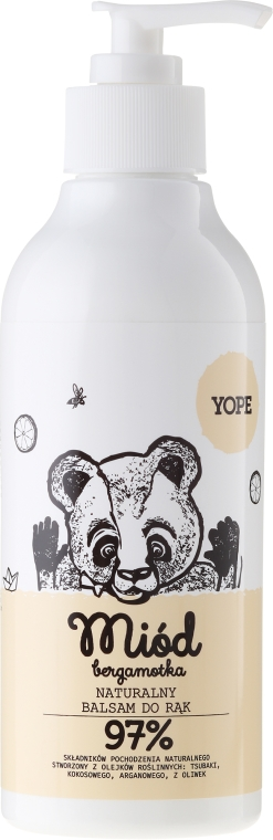 Balzam na ruky - Yope Honey & Bergamot Hand Balm