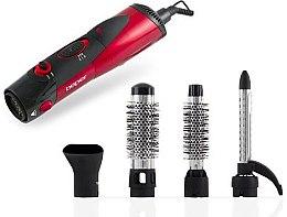 Voňavky, Parfémy, kozmetika Fén-kefa na vlasy 4v1, 40,989, červený - Beper