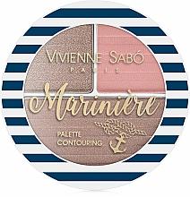 Voňavky, Parfémy, kozmetika Paleta na kontúrovanie tváre - Vivienne Sabo Mariniere Palette Contouring