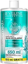 Voňavky, Parfémy, kozmetika Micelárna voda pre normálnu a kombinovanú pokožku - Eveline Cosmetics Facemed+
