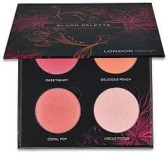 Voňavky, Parfémy, kozmetika Paleta lícenky - London Copyright Magnetic Face Powder Blush Palette