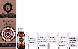 Voňavky, Parfémy, kozmetika Sada - Beviro Grapefruit Cinnamon Sandal Wood (b/oil/10ml + b/balm/15ml + edc/5x1ml)
