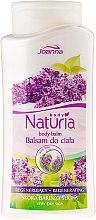 Voňavky, Parfémy, kozmetika Balzam na telo c lilac - Joanna Naturia Body Balm