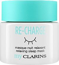 """Voňavky, Parfémy, kozmetika Nočná maska na tvár """"Relax"""" - Clarins My Clarins Re-Charge Relaxing Sleep Mask"""