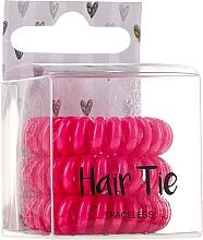Voňavky, Parfémy, kozmetika Gumičky do vlasov, ružové - Cosmetic 2K Hair Tie Pink