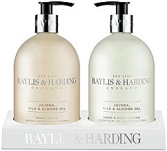 Voňavky, Parfémy, kozmetika Sada - Baylis & Harding Royal Bouquet Jojoba, Silk and Almond Oil (b/lot/500ml + soap/500ml)