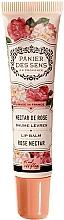 Voňavky, Parfémy, kozmetika Balzam na pery s bambuckým maslom Ruža - Panier des Sens Lip Balm Shea Butter Rose Nectar