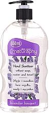 Voňavky, Parfémy, kozmetika Alkoholový gél na ruky s vôňou levandule - Bluxcosmetics Naturaphy Alcohol Hand Sanitizer With Lavender Fragrance