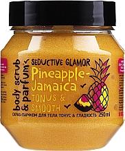 """Voňavky, Parfémy, kozmetika Scrub na telo """"Tonus a hladkosť"""" - MonoLove Bio Pineapple-Jamaica Tonus & Smoothness Scrub"""